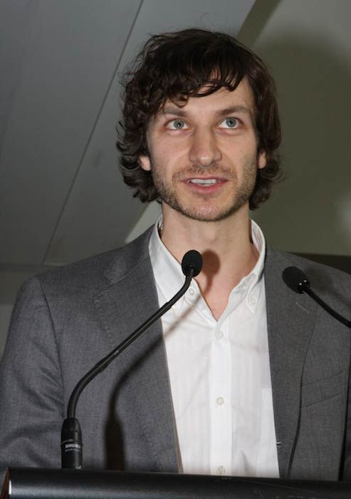 Gotye during the 2012 ARIA Chart Awards in Australia...