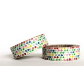 Colourful Dotted Washi Tape