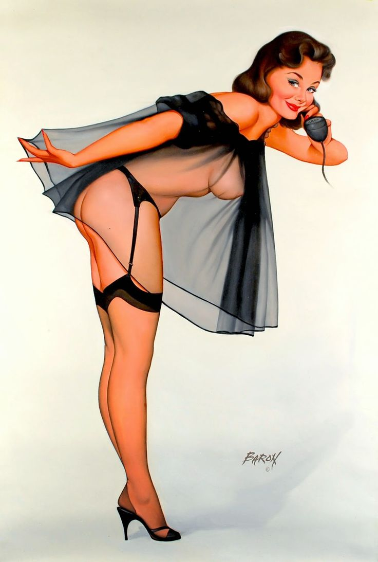 Pin Up Girls Via Baron Von Lind Pin Up And Cartoon