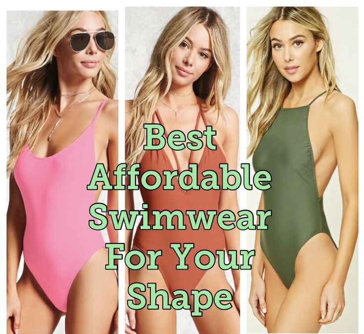BEST AFFORDABLE SWIMWEAR FOR YOUR SHAPE Every woman has a different shape and its important to know what to wear to potentiate your best attributes.