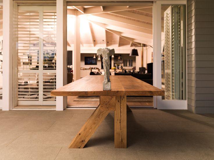 Paul' an unique solid oak table from my signature series. #oak #table #decor #interiordesign #capetown