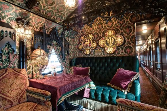 private rail car if the dictionary had an image for the word fancy this would be the image. Black Bedroom Furniture Sets. Home Design Ideas