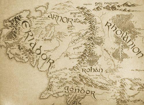 lotr map tumblr