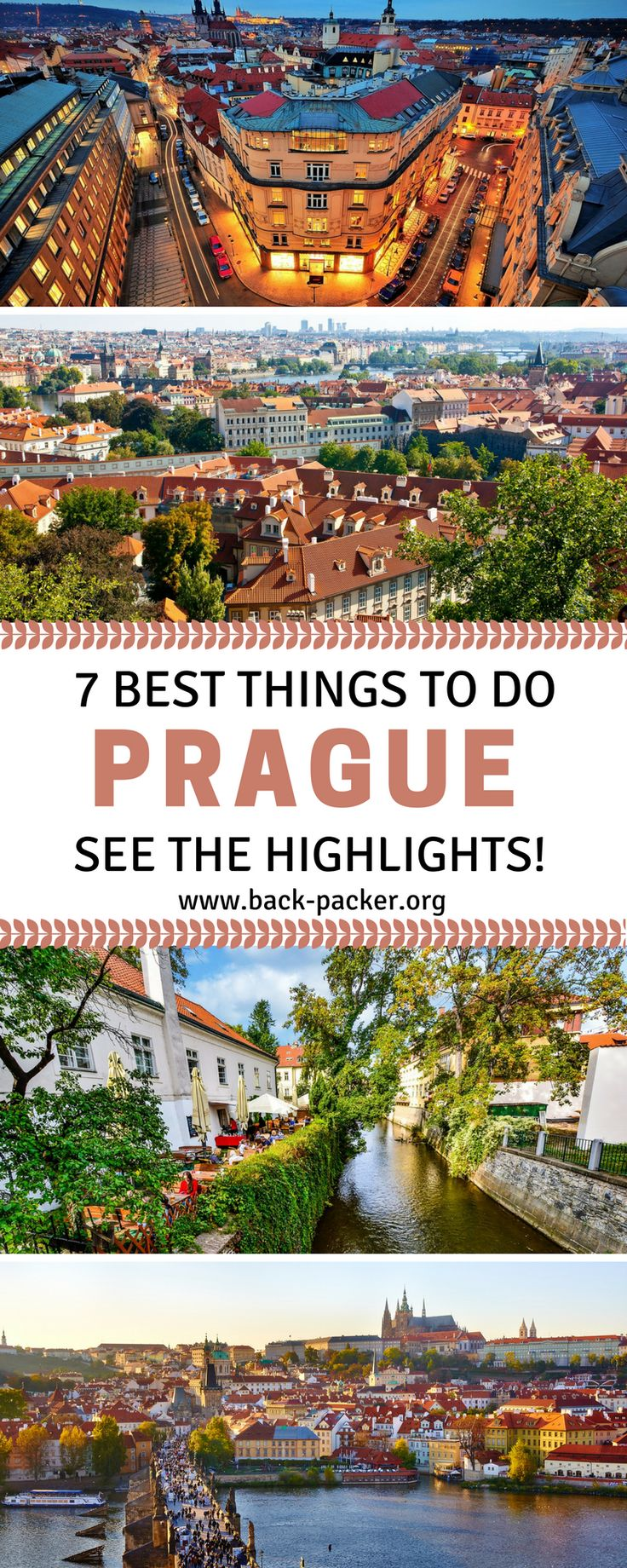 7 of the best things to do when visiting Prague. From Prague Castle to Old Town, no trip to Prague would be complete without experiencing these city highlights. Travel in the Czech Republic, Eastern Europe. | Back-packer.org #Prague #EastEurope