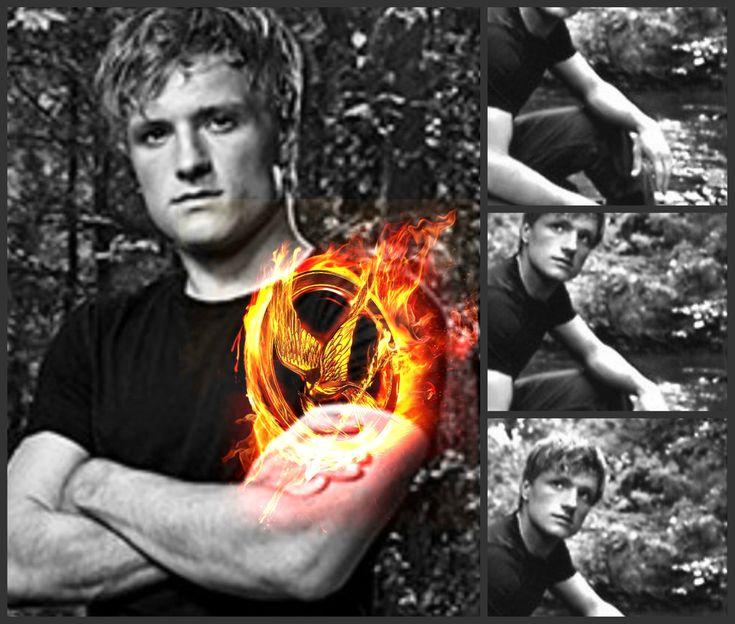 PeetaJosh Hutcherson, The Hunger Games, Catching Fire, Team Peeta, Hutcherson Peeta Mellark, Hunger Gamespeeta, Hungergames, Hunger Games Peeta, Games Trilogy