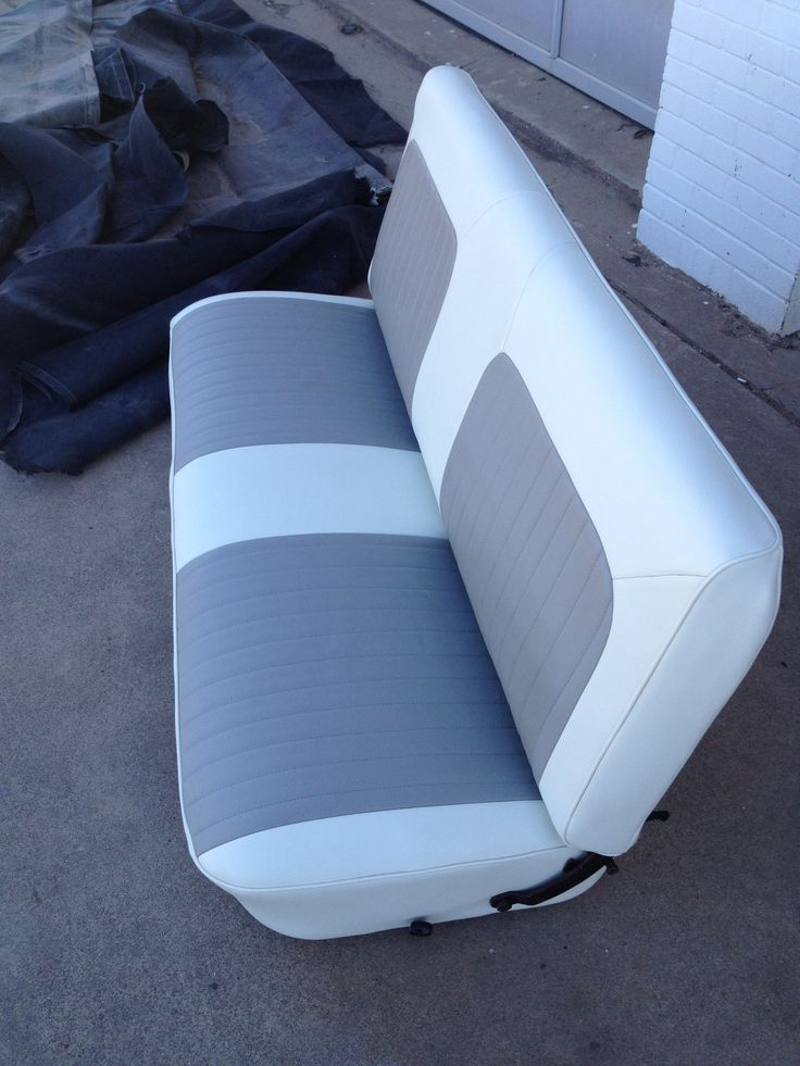 New Upholstered Seats My Project 1965 F100 Automotive