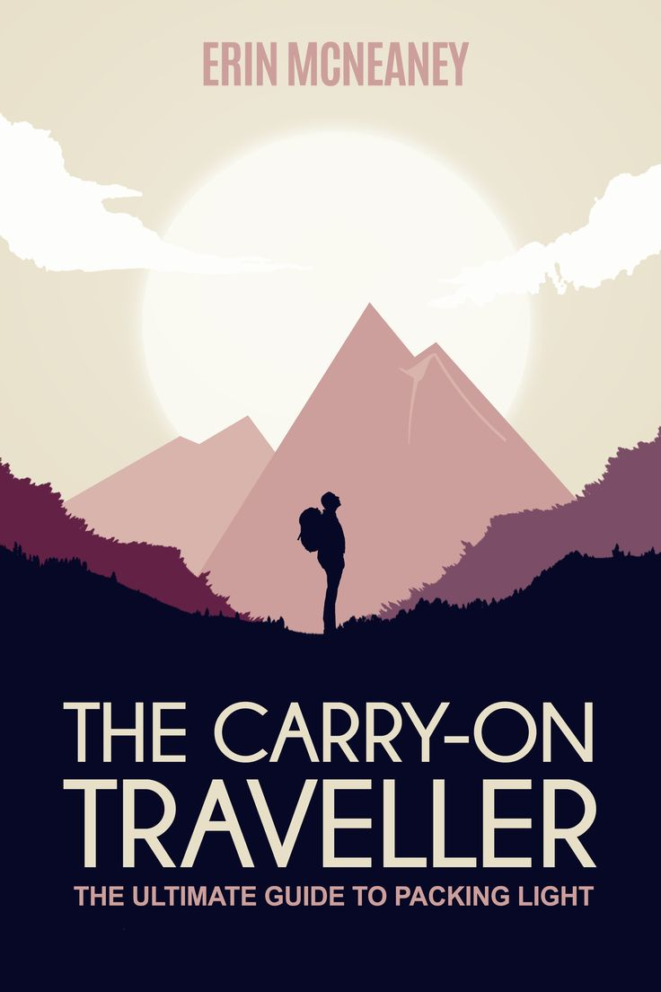 E/Book Cover:The Carry-on Traveller  Designed by PulpArt Studio