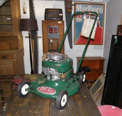 1950 Villager Lawn Mower Mantiques Pinterest