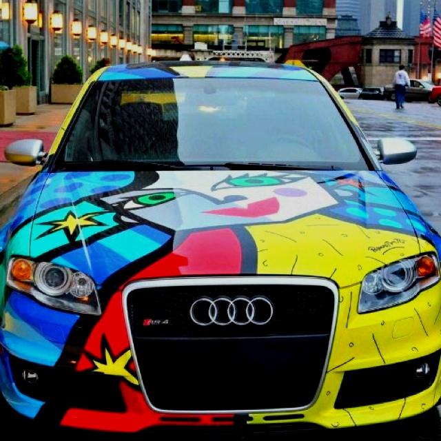 Romero Britto Audi