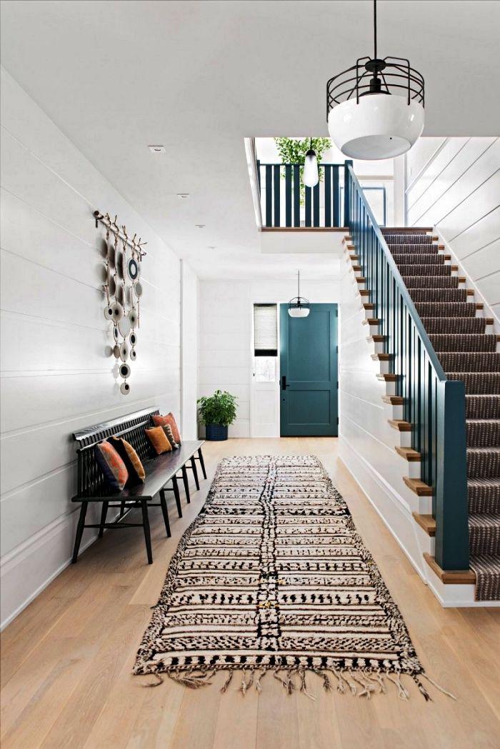 1001 Idees Pour La Decoration Et L Amenagement D Entree Reussie Deco Entree Maison Maison Parement Mural