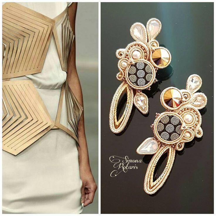 129 отметок «Нравится», 2 комментариев — Simona Rotaris (@simona_rotaris) в Instagram: «#simonarotaris #beadwork #simonarotaris #soutache #handmadejewelry #earrings #uhani #pendientes…»