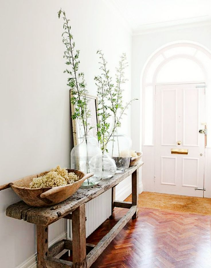 Narrow Table For Foyer : Best ideas about narrow entryway on pinterest