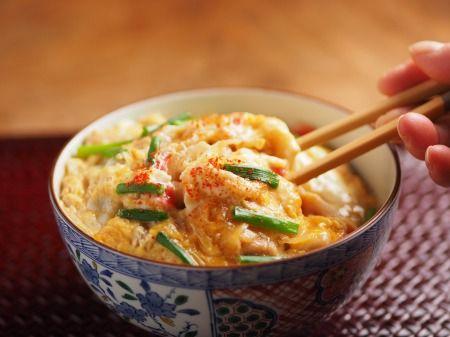 親子うどん 魚料理と簡単レシピ