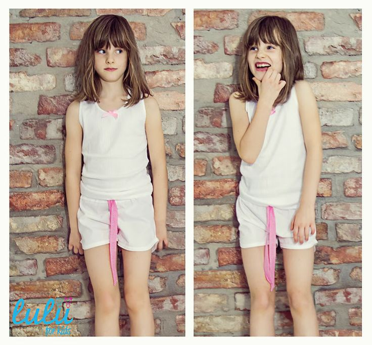 Wear it when it's hot! Cute pyjama with a colorfoul bow, which you can choose by yourself! Would you like pink one?