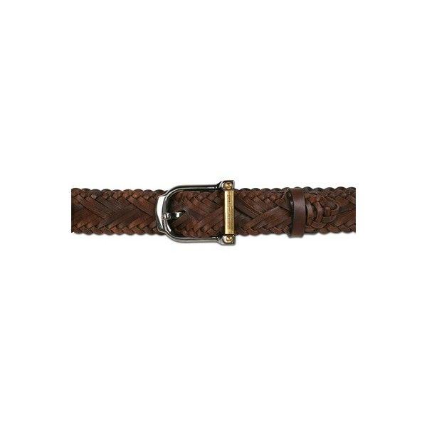 DOLCE & GABBANA - PLAITED CALFSKIN BELT ($265) ❤ liked on Polyvore featuring accessories, belts, gürtel, metallic belts, dolce gabbana belt, woven belt, gold metal belt and braided leather belt