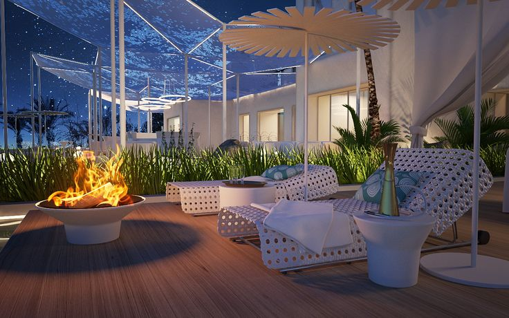 Hotel Sharm-El-Sheik Spa - Egypt / outdoor lounge
