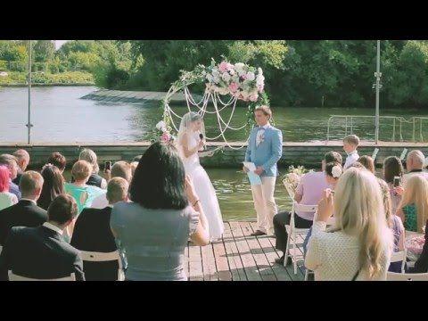 Муз.Свадьба в шатре. Яхт-клуб Авангард - YouTube