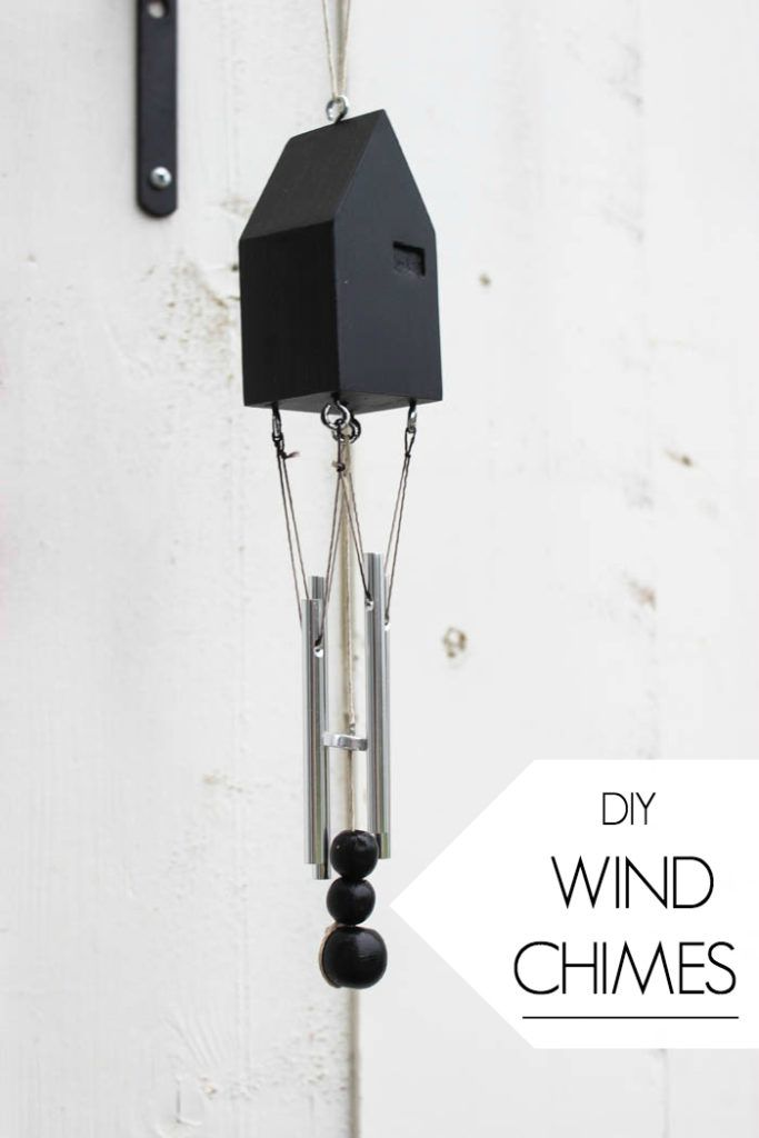 Diy Modern Wind Chimes With Images Wind Chimes Modern Wind Chimes Modern Diy