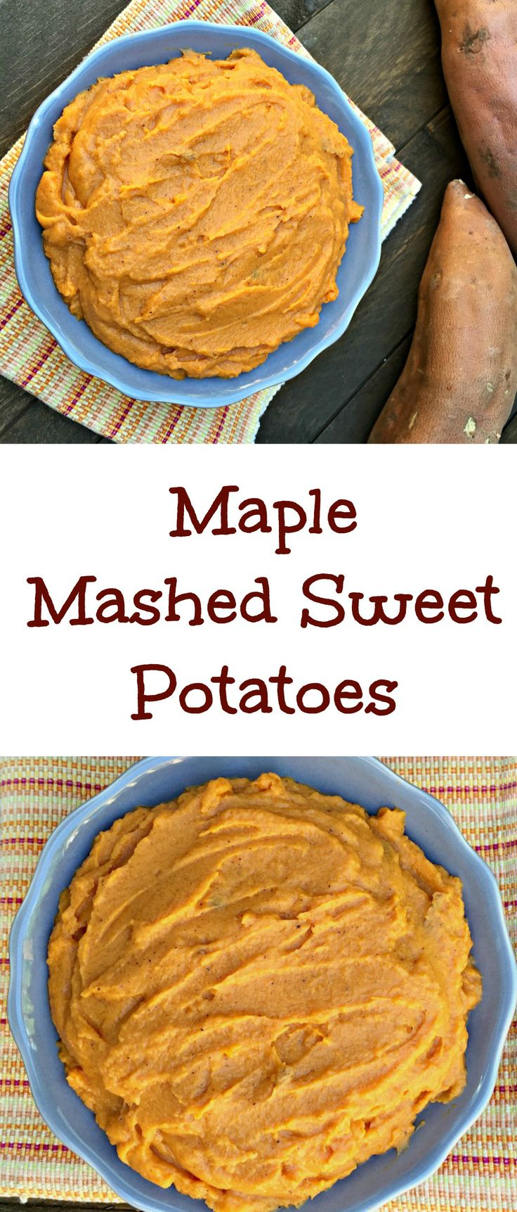 Maple Mashed Sweet Potatoes | Recipe | Butter, Sweet and Honey