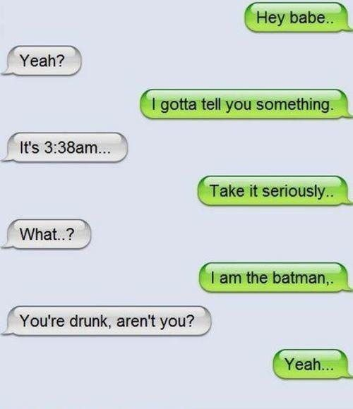 When you've been harbouring a secret. | 21 Times Text Messages Are The Only Way To Say It... #3 is me