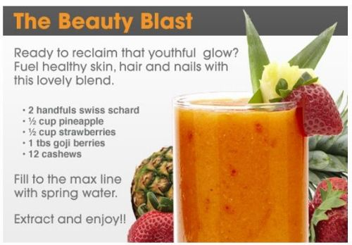 Detox Drink Recipe - The Beauty Blast www.openmindnutrition.com/is-using-a-juicer-blender-or-extractor-best-for-juicing-a-juice-detox-diet-plan/