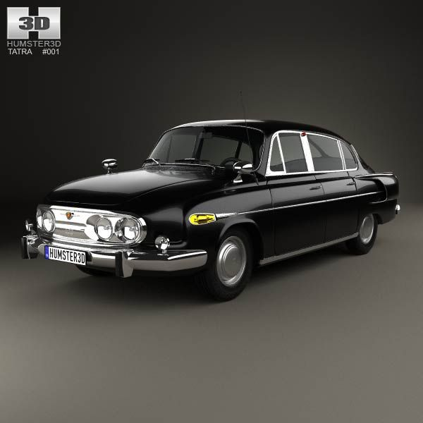 Tatra T603 1968 3d model from humster3d.com. Price: $75