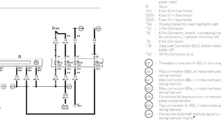 Vw Jetta Stereo Wiring Diagram Vw Jetta Vw Passat Diagram