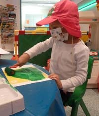 Laila, hospital play therapy positions funded by Camp Quality in Sydney,