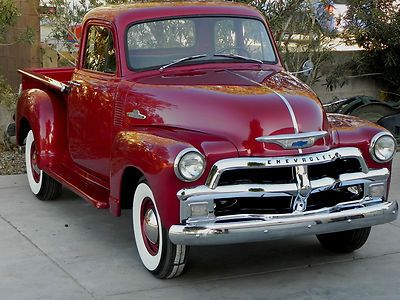 1954 Chevy 3100 V8 Shortbed 5 Window Pickup Truck