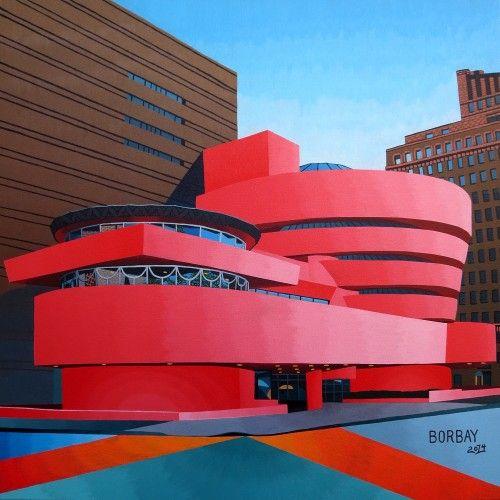 BORBAY » Guggenheim #6 AKA Pink Guggenheim