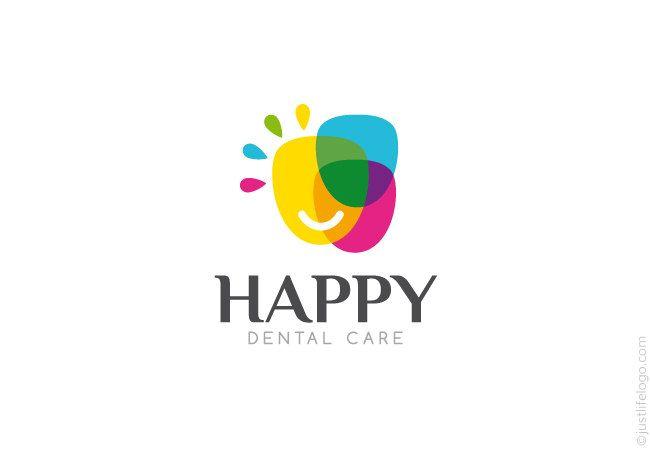 happy-dental-logo-for-sale