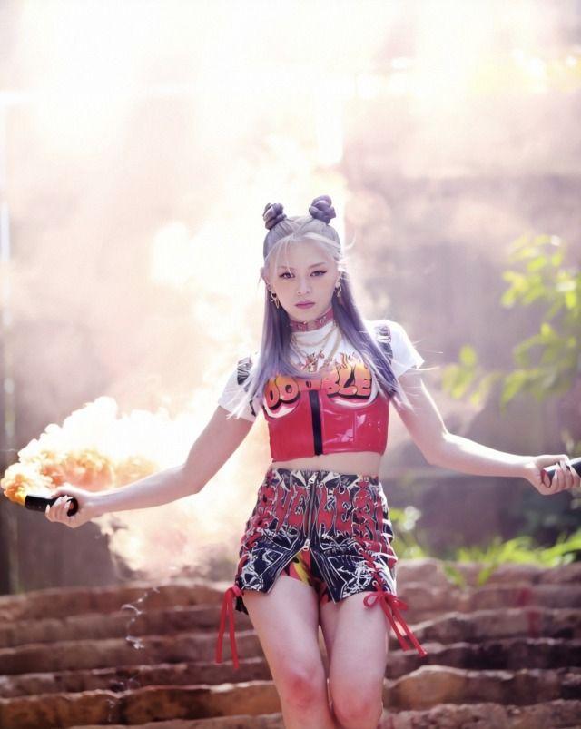 Alexazbofficial Official 200716 Alexa Villain Photoshoot Alexa Kpop Girls Kpop Girl Groups