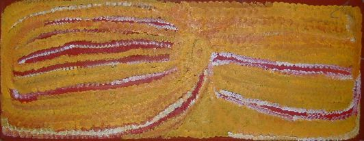 Eubena Nampitjin  Walu  2006  acrylic on linen  80 x 30 cm  $5,500 AUD