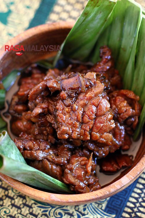 Daging Masak Kicap (Soy Sauce Beef) | Easy Asian Recipes at RasaMalaysia.com