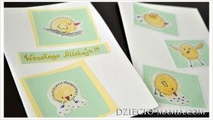 Easter cards, kartki wielkanocne, dziecio-mamia.com