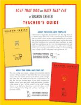 Integrate Sharon Creech's Love That Dog and Hate That Cat into your #poetry unit with this teacher's guide. (Grades 3-6)