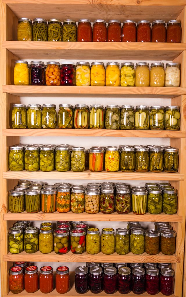 Canning Shelf Gorgeous In 2019 Canning Jars Kitchen
