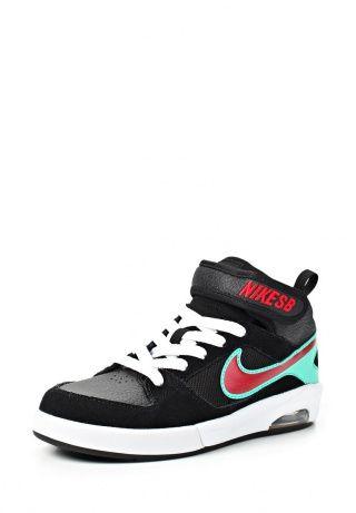 Кеды черного цвета от Nike - это удобная и качественная детская обувь. Детали: текстильная стелька и подкладка, плотная шнуровка и ремешок на липучке на подъеме, перфорация, гибкая подошва с технологией Air. http://j.mp/1pNdiLc