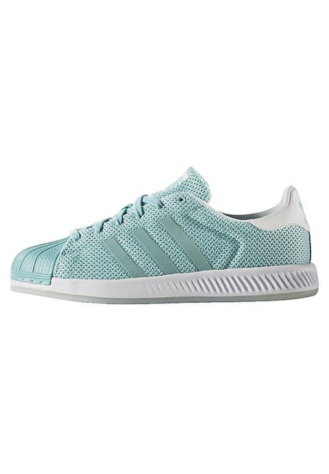 huge discount e90ae cbd07 SUPERSTAR BOUNCE - Sneakers laag - easy mint footwear white