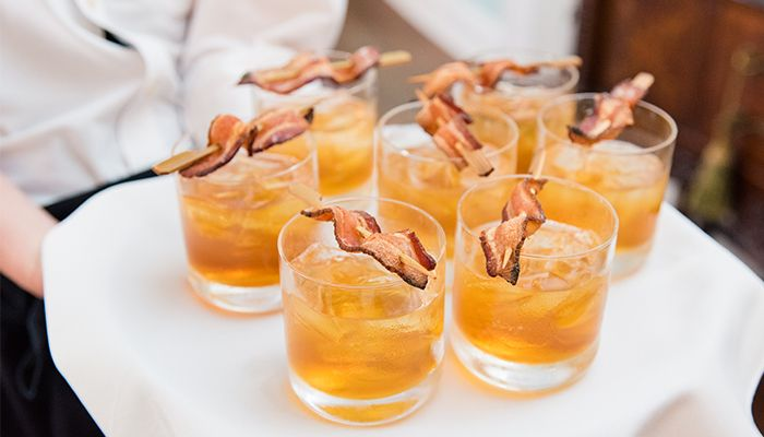 The recipe for the bacon-maple Manhattan from PPHG events | Lowndes Grove Plantation in Charleston, South Carolina | Photo by Dana Cubbage Weddings