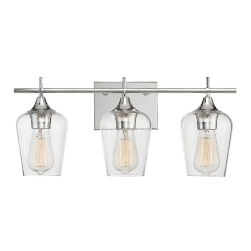 Savoy House Lighting Octave Polished Chrome Bathroom Light | 8-4030-3-11 | Destination Lighting