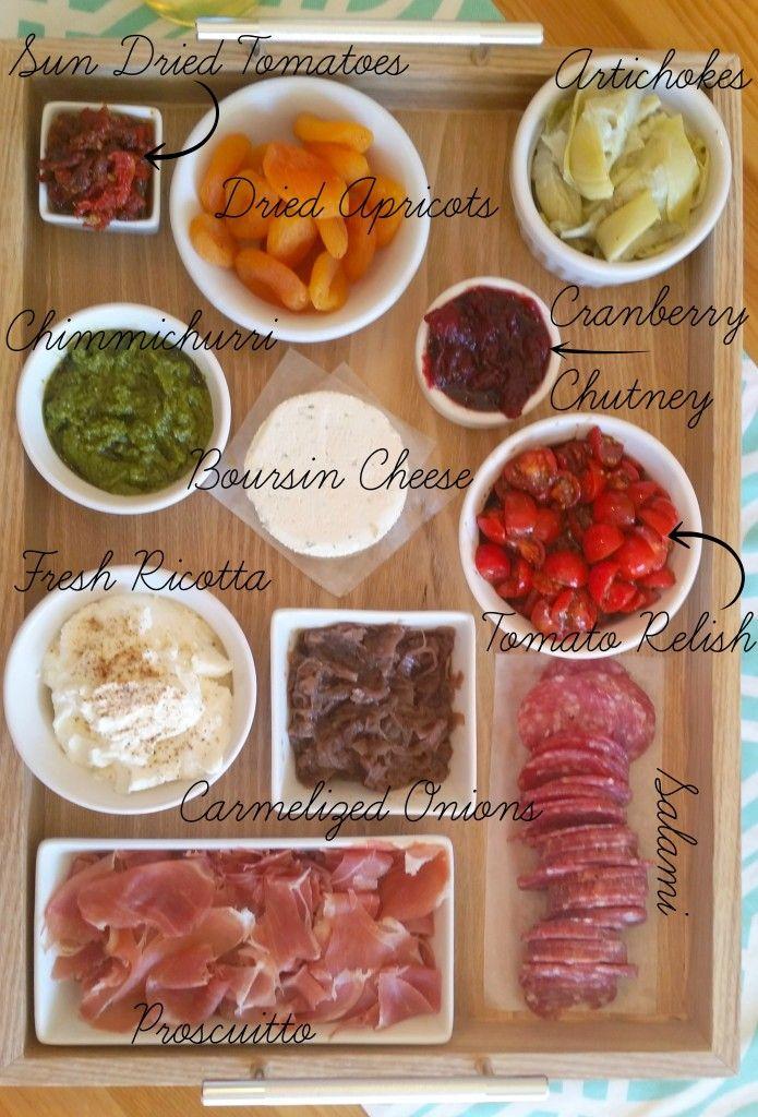 Bruschetta Bar Menu plus Party Menu Planning Tips!