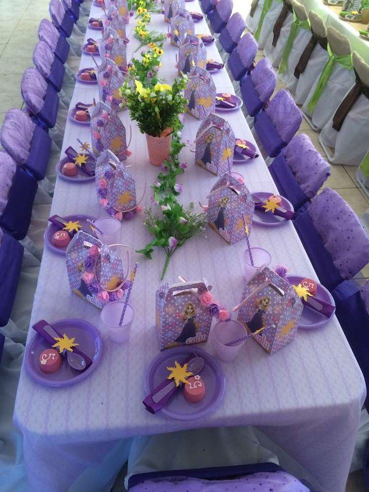 Rapunzel Birthday Party   CatchMyParty.com