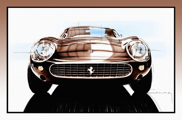 STORMWHEELS: Ferrari 275 Competizione + Illustrazione di Gianca...