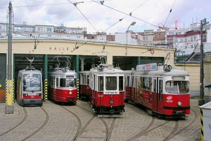 Trolleys, Trams, | Trams in Vienna , one of the largest existing networks in the world