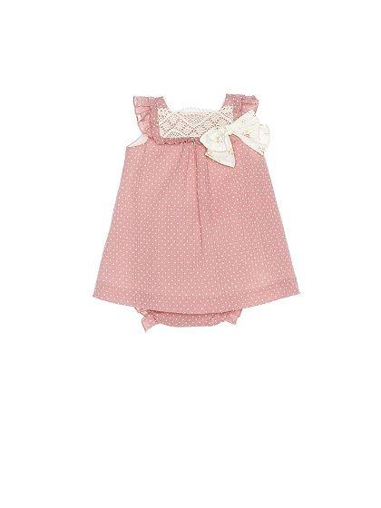 NANOS SHOP ONLINE. newborn / Dresses / FALDON BAMBULA ROSA