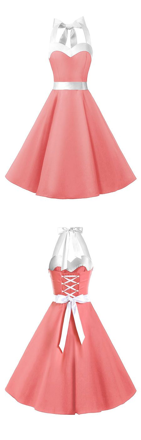 rockabilly dresses,50s dresses,vintage style dresses,ruched retro dresses,halter dresses,fashion vintage dresses