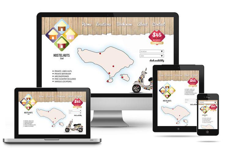 HostelHuts app and website