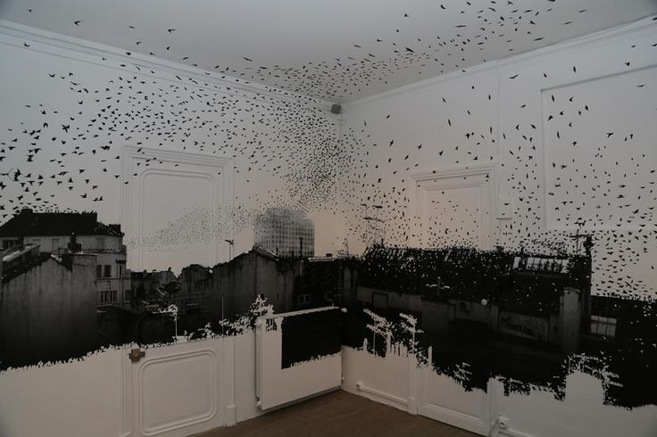 "Matthieu Redon présente son installation ""Migration"""