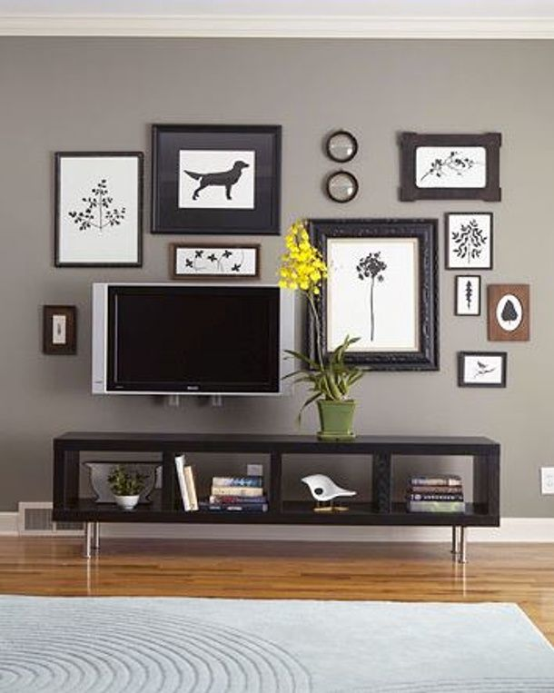 Decorate around it TV disguise